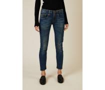 Skinny Jeans 'Boy Skinny' Blau