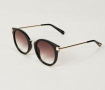 Sonnenbrille 'Last Dance' Schwarz/Grau