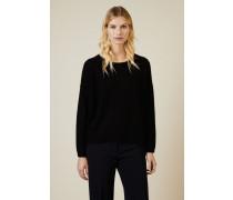 Oversize Cashmere-Pullover Schwarz - Cashmere
