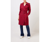 Leichter Trenchcoat Bordeaux