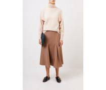 Woll-Pullover 'Cosy' mit Turtleneck Beige