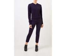 Woll-Cashmere-Pullover mit Rückendetail Evening