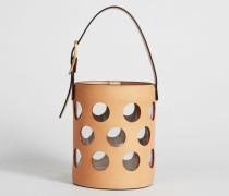 Handtasche 'Perf Bucket' Camello