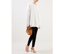Sweater 'Fiene Reversal Label' Weiß