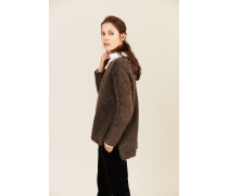 Woll-Pullover Braun