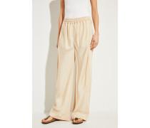 Hose mit weitem Bein Light Camel