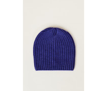 Grobstrick-Mütze 'Amelia' Royalblau