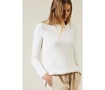 Cashmere Pullover 'Santorin' Weiß - Cashmere