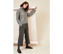 Cashmere-Pullover 'Aspen' Grau - Cashmere