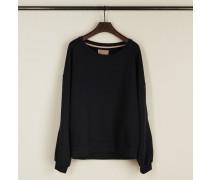 Sweatshirt mit Rundhalsausschnitt 'Per' Marineblau