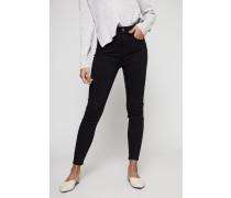 Slim Illusion Jeans 'Aubrey' Schwarz