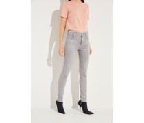 High Rise Skinny-Jeans 'Rocket' Grau