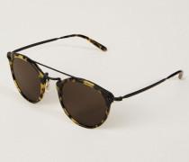 Sonnenbrille 'Remick' Schwarz/Gelb
