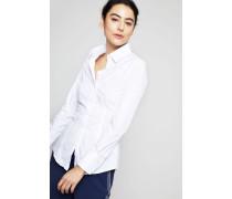 Klassische Bluse 'Jonie 102' Weiß
