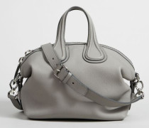 Tasche 'Nightingdale Small' Pearl Grey - Leder