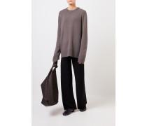 Woll-Cashmere-Pullover 'Sibina' Grey/Braun
