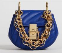Umhängetasche 'Drew Bijou Nano' Majesty Blue - Leder