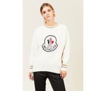 Woll-Cashmere-Pullover Weiß - Cashmere