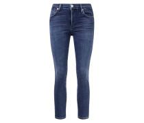 Midrise Skinny-Jeans 'Rocket Crop'
