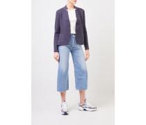 Doubleface Cashmere-Blazer 'Pacita' Blau 75% Cashmere - 25% Seide Innenseite: -