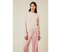 Cashmere-Seiden Pullover 'Minco' Rosé - Cashmere