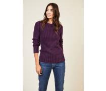 Cashmere-Pullover 'Amazonas' Violett - Cashmere