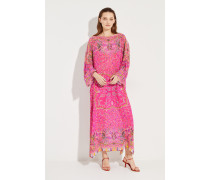 Maxi-Kleid mit Print Multi