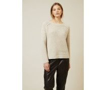 Cashmere Pullover 'Southhampton' Beige - Cashmere