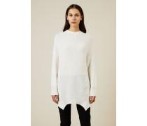 Oversize Cashmere Pullover Crèmeweiß - Cashmere