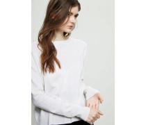 Oversized Cashmere Pullover Crèmeweiß - Cashmere