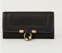 Portemonnaie 'Marcie' Schwarz - Leder
