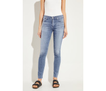 High Rise Skinny Jeans 'Rocket Regular' Blau