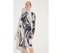 Hemdblusenkleid 'Crista' mit Print Multi