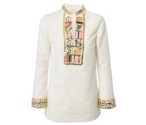 Tunika 'Embellished Tory Tunic' Ivory