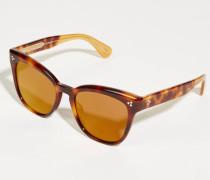 Sonnenbrille 'Marianela' Havana