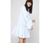 Baumwoll-Hemdblusenkleid 'Tracy' Skylight/White - 100% Baumwolle