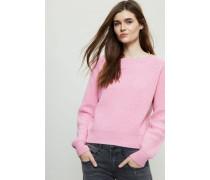 Grobgestrickter Cashmere-Pullover Pink - Cashmere