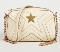 Schultertasche 'Camera Bag' Cream