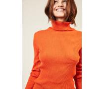 Cashmere-Rollkragenpullover 'Lawrence' Orange - Cashmere