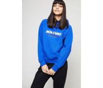 Baumwoll-Hoodie 'Penelope' Blau - 100% Baumwolle