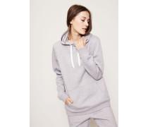 Kapuzen-Sweatshirt Light Grey