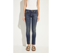 Skinny-Jeans 'Kate' Blau