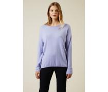 Cashmere-Pullover 'Cayo' Flieder - Cashmere