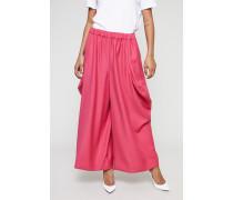 Hose mit weitem Bein Pink