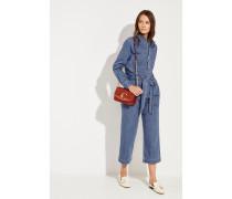 Jeans-Jumpsuit Blau