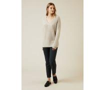 Cashmere Pullover 'Sardinia' Beige - Cashmere