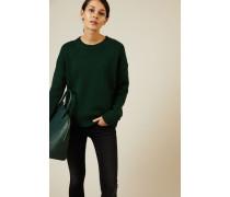 Woll-Cashmere-Pullover Grün - Cashmere