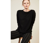Leichter Cashmere-Pullover 'Lana' Schwarz - Cashmere