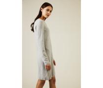 Cashmere Kleid 'Canaria' Grau