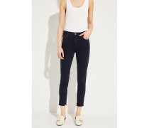 Jeans 'Rocket Crop' Marineblau